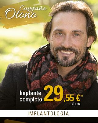 Clinicas Unidental Promoción Otoño Implante + Corona