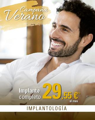 Clinicas Unidental Promociones Verano Implante más Corona