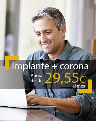 Promoción Implante y Corona clínica Unidental