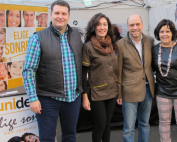 Unidental Alicante con el alcalde Gabriel Echávarri