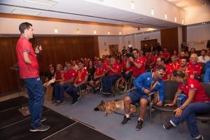 José Manuel Ruiz, medallista olímpico, compartiendo con todos su experiencia en Río.