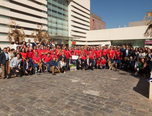 Unidental recibe a los deportistas recién llegados de Río 2016