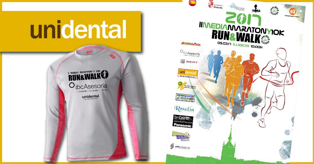 Unidental Illescas y Getafe Centro en la II Maratón Illescas 2017