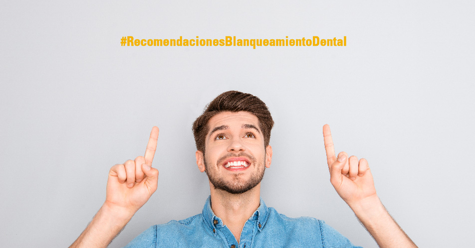 Recomendaciones después de un blanqueamiento dental