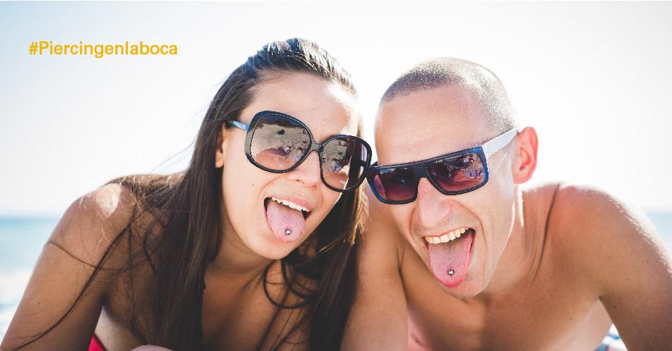 Riesgos del uso de piercings para la salud bucodental