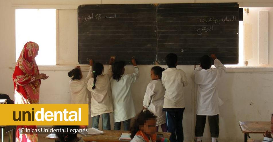Clinicas Unidental Leganes Asociacion Pueblo Saharaui Vaciones en Paz - Colegio en Argelia