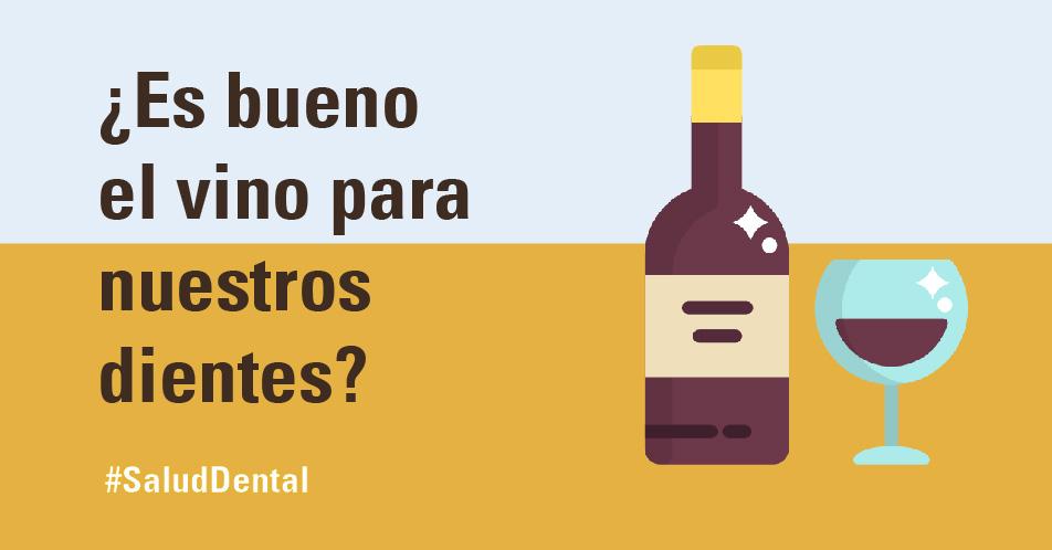 ¿Es bueno el vino para la salud de los dientes?