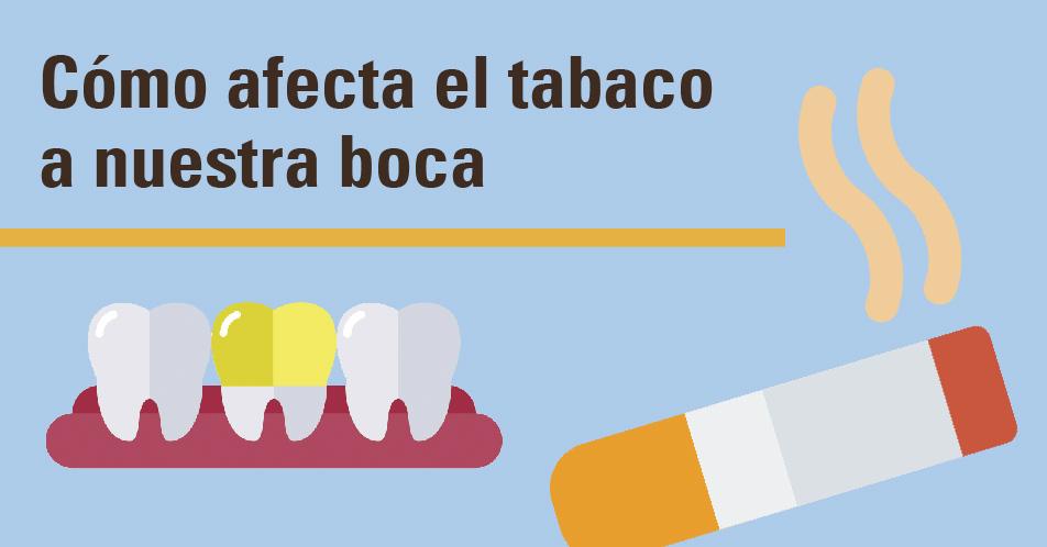 Cuanto daño hace el tabaco a nuestros dientes