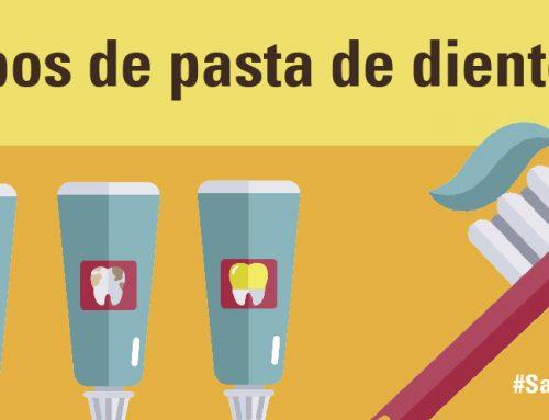 Tipos de pasta de dientes